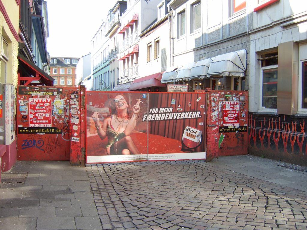 Eingang der Herbertstraße