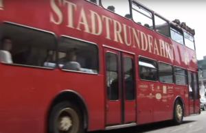 Rote Doppeldecker Hamburg - Stadtrundfahrt