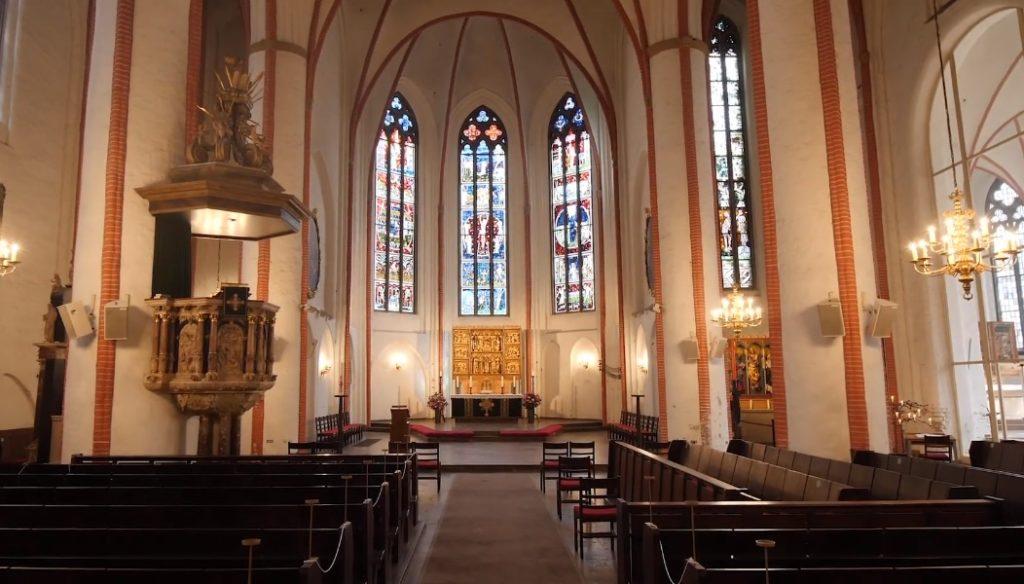 St. Jacobi von Innen