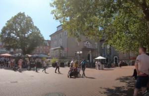 Der Stadtteil Altona in Hamburg