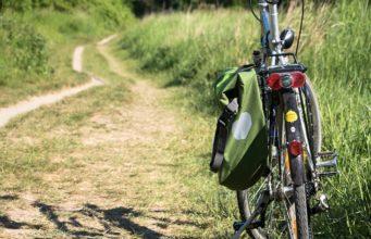 Radfahren im Regionalpark Rosengarten